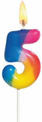 Susy Card —веча-÷ифра –адужна¤ 5 , јсс ÷в., 5—м, ѕарафин, Ѕлистер