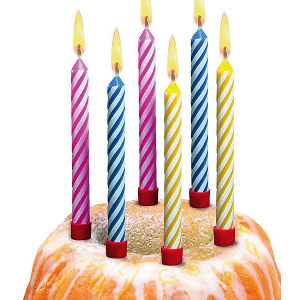 Свечи д/торта большиеДетские свечи для торта<br>Свечи д/торта  большие 12 штук. В набор входит  12 подсвечников. Изготовлены из высококачественного парафина.<br><br>Ширина мм: 19<br>Глубина мм: 90<br>Высота мм: 200<br>Вес г: 60<br>Возраст от месяцев: 36<br>Возраст до месяцев: 2147483647<br>Пол: Унисекс<br>Возраст: Детский<br>SKU: 7139168