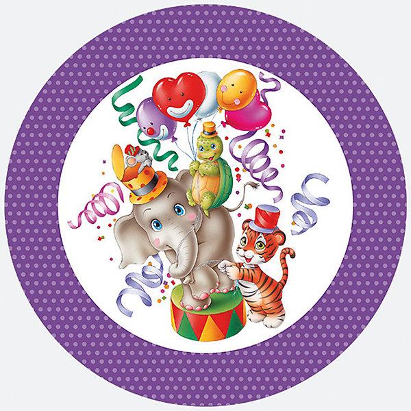 Тарелки С Днем РожденияНовинки для праздника<br>Тарелки одноразовые  С Днем рождения. Диаметр тарелки 23см. В наборе 8 картонных ламинированных тарелок с красивым  рисунком. Плотность картона 230 г/м2<br><br>Ширина мм: 10<br>Глубина мм: 227<br>Высота мм: 227<br>Вес г: 91<br>Возраст от месяцев: 36<br>Возраст до месяцев: 2147483647<br>Пол: Унисекс<br>Возраст: Детский<br>SKU: 7139202