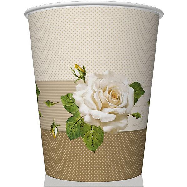 Стаканы Roses,250 мл.Новинки для праздника<br>Набор бумажных стаканов Roses из 8 шт объемом 250 мл. Материал: картон 210 г/м2<br>Ширина мм: 80; Глубина мм: 80; Высота мм: 90; Вес г: 50; Возраст от месяцев: 36; Возраст до месяцев: 2147483647; Пол: Унисекс; Возраст: Детский; SKU: 7139216;