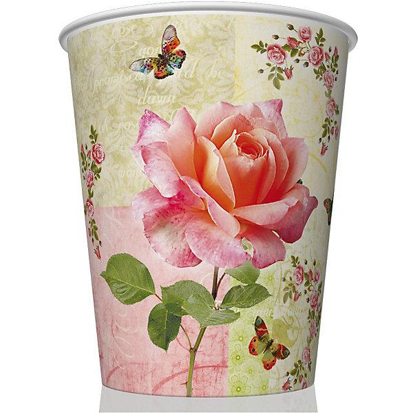 Стаканы Роза и бабочкиСтаканы<br>Набор бумажных стаканов Роза и бабочки из 8 шт объемом 250 мл. Материал: картон 210 г/м2<br><br>Ширина мм: 80<br>Глубина мм: 80<br>Высота мм: 90<br>Вес г: 50<br>Возраст от месяцев: 36<br>Возраст до месяцев: 2147483647<br>Пол: Унисекс<br>Возраст: Детский<br>SKU: 7139219