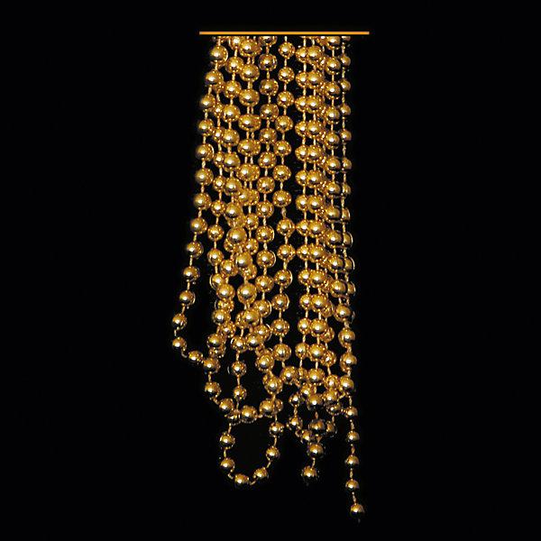ёл. укр. бусы ШАРИКИ, ср., 2,7 м, золотоНовогодняя мишура и бусы<br>Новогодние  и елочные украшения, в т.ч. пластиковые шары, украшения фигурные, изображающие представителей флоры, фауны, сказочных персонажей, верхушки, бусы, ветки, бантики, гирлянды и фонарики  (без подключения к сети переменного тока), конфетти, мишура, дождик, серпантин,  панно, венки, ели, ленты декоративные<br><br>Ширина мм: 120<br>Глубина мм: 220<br>Высота мм: 10<br>Вес г: 11<br>Возраст от месяцев: 36<br>Возраст до месяцев: 2147483647<br>Пол: Унисекс<br>Возраст: Детский<br>SKU: 7140175