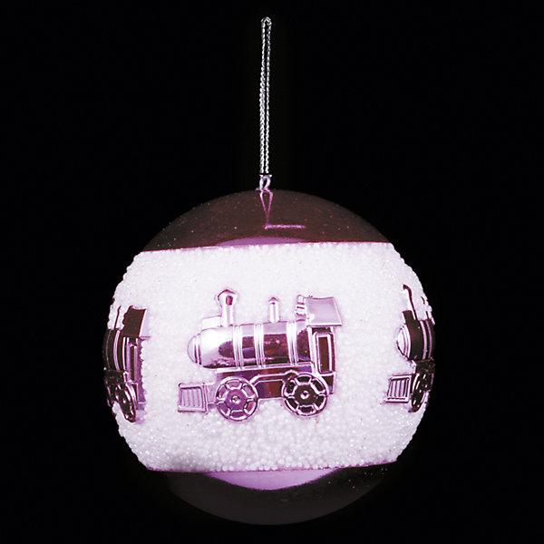 ёл. укр. шар PINK DREAMS 8см, 1шт, розов.Ёлочные игрушки<br>Новогодние  и елочные украшения, в т.ч. пластиковые шары, украшения фигурные, изображающие представителей флоры, фауны, сказочных персонажей, верхушки, бусы, ветки, бантики, гирлянды и фонарики  (без подключения к сети переменного тока), конфетти, мишура, дождик, серпантин,  панно, венки, ели, ленты декоративные<br><br>Ширина мм: 80<br>Глубина мм: 80<br>Высота мм: 80<br>Вес г: 47<br>Возраст от месяцев: 36<br>Возраст до месяцев: 2147483647<br>Пол: Унисекс<br>Возраст: Детский<br>SKU: 7140185