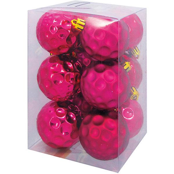 Наб.шаровЯПОНИЯ тёмно-розовый, форма, 5см, 12штЁлочные игрушки<br>Характеристики:<br><br>• тип игрушки: елочное украшение;<br>• размер: 15х10х10 см;<br>• количество: 12 шт;<br>• цвет: темно-розовый;<br>• бренд: Marko Ferenzo;<br>• возраст: от 3 лет;<br>• вес: 98 гр;<br>• материал: пластик.<br><br>Набор шаров «ЯПОНИЯ» тёмно-розовый, форма, 5см, 12шт станет отличным дополнением к новогодним украшениям елки или интерьера дома к праздникам. Такое украшение станет актуальным подарком, который позволит заранее подготовиться к празднованию Нового года. С помощью него ребенок сможет сам поучаствовать в подготовке к празднику и украсить дом.<br><br>Эту игрушку может использовать ребенок от трех лет. Шары красиво переливаеются, благодаря своему цвету. И поэтому при свете электрических гирлянд шар будет изыскано смотреться на любой новогодней елочке. Игрушка изготовлена из пластика. <br><br>Такую игрушку можно использовать для украшения новогодней елки или как элемент декора. Использование игрушек позволяет ребенку проявить свои творческие способности, пофантазировать или раскрыть талант. Все элементы шара являются абсолютно безопасными для ребенка и изготовлены из высококачественных материалов.<br><br>Набор шаров «ЯПОНИЯ» тёмно-розовый, форма, 5см, 12шт можно купить в нашем интернет-магазине.<br><br>Ширина мм: 150<br>Глубина мм: 100<br>Высота мм: 100<br>Вес г: 98<br>Возраст от месяцев: 36<br>Возраст до месяцев: 2147483647<br>Пол: Унисекс<br>Возраст: Детский<br>SKU: 7140200