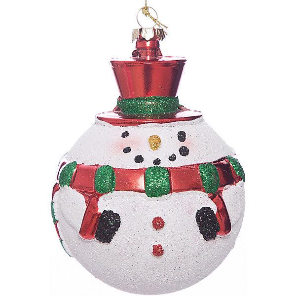 ёл. укр. шар GRANDE  снеговик, 11х8см, 1шт, красныйЁлочные игрушки<br>Характеристики:<br><br>• тип игрушки: елочное украшение;<br>• размер: 8х11х8 см;<br>• цвет: красный, зеленый, белый;<br>• бренд: Marko Ferenzo;<br>• возраст: от 3 лет;<br>• вес: 35 гр;<br>• материал: пластик.<br><br>Елочное украшение «GRANDE» снеговик, 11х8см, красный станет отличным дополнением к новогодним украшениям елки или интерьера дома к праздникам. Такое украшение станет актуальным подарком, который позволит заранее подготовиться к празднованию Нового года. С помощью него ребенок сможет сам поучаствовать в подготовке к празднику и украсить дом. <br><br>Эту игрушку может использовать ребенок от трех лет. Шар красиво переливается, благодаря своему цвету. И поэтому при свете электрических гирлянд шар будет изыскано смотреться на любой новогодней елочке. Игрушка изготовлена из пластика. <br><br>Такую игрушку можно использовать для украшения новогодней елки или как элемент декора. Использование игрушек позволяет ребенку проявить свои творческие способности, пофантазировать или раскрыть талант. Все элементы шара являются абсолютно безопасными для ребенка и изготовлены из высококачественных материалов.<br><br>Елочное украшение «GRANDE» снеговик, 11х8см, красный можно купить в нашем интернет-магазине.<br>Ширина мм: 80; Глубина мм: 110; Высота мм: 80; Вес г: 35; Возраст от месяцев: 36; Возраст до месяцев: 2147483647; Пол: Унисекс; Возраст: Детский; SKU: 7140208;