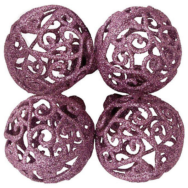 ёл. укр. PINK DREAMS набор шар кружевной  6 см., 4шт, розовыйЁлочные игрушки<br>Характеристики:<br><br>• тип игрушки: елочное украшение;<br>• цвет: розовый;<br>• количество: 4 шт;<br>• размер: 12х14х8 см;<br>• бренд: Marko Ferenzo;<br>• возраст: от 3 лет;<br>• вес: 47 гр;<br>• материал: пластик.<br><br>Елочное украшение набор из четырех шаров «PINK DREAMS» станет отличным дополнением к новогодним украшениям елки или интерьера дома к праздникам. Такое украшение станет актуальным подарком, который позволит заранее подготовиться к празднованию Нового года. С помощью него ребенок сможет сам поучаствовать в подготовке к празднику и украсить дом.<br><br>Эту игрушку может использовать ребенок от трех лет. Елочное украшение «PINK DREAMS» от бренда Marko Ferenzo представляет собой набор шаров нежно-розового цвета. Шары красиво переливаются, благодаря тому что они покрыты перламутровым напылением. По этому при свете электрических гирлянд шары будут изыскано смотреться на любой новогодней елочке. Игрушка изготовлена из пластика. Диаметр шара - 6 см.<br><br>Все элементы хорошо приклеены друг к другу качественным клеем и не оторвутся. Такую игрушку можно использовать для украшения новогодней елки или как элемент декора. Использование таких игрушек позволяет ребенку проявить свои творческие способности, пофантазировать или раскрыть талант. Все элементы шара являются абсолютно безопасными для ребенка и изготовлены из высококачественных материалов.<br><br>Елочное украшение набор из четырех шаров «PINK DREAMS» можно купить в нашем интернет-магазине.<br>Ширина мм: 120; Глубина мм: 180; Высота мм: 60; Вес г: 47; Возраст от месяцев: 36; Возраст до месяцев: 2147483647; Пол: Унисекс; Возраст: Детский; SKU: 7140227;