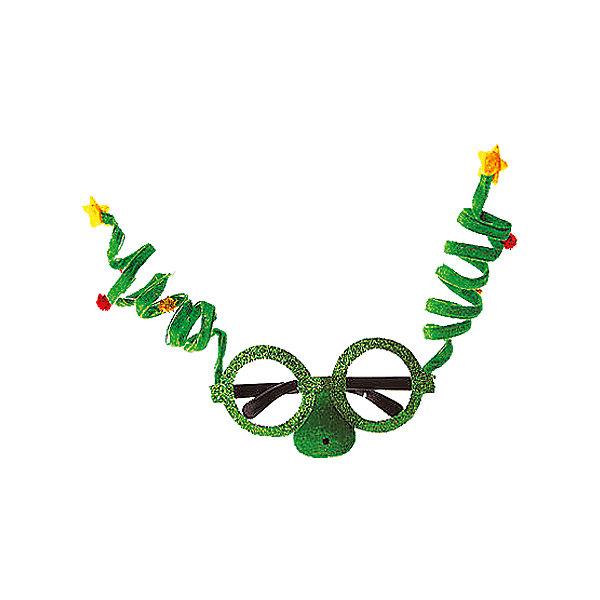 изд для карн. ЕЛОЧКИН маска-очкиДетские карнавальные маски<br>Характеристики:<br><br>• тип игрушки: маска;<br>• размер: 44х24х2 см;<br>• размер маски: 19х16 см;<br>• бренд: Marko Ferenzo;<br>• возраст: от 3 лет;<br>• вес: 41 гр;<br>• материал: пластик, текстиль.<br><br>Изделие для карнавала «Елочкин» может стать оригинальным атрибутом веселого и радостного праздника. Владелец маски сможет доставить массу удовольствия не только себе, но и окружающим его близким людям. Забавные зеленые очки с антеннками сверху порадуют и взрослых и детей. Данный новогодний аксессуар поможет полностью разрушить стереотипы о том, что очки - это скучно. Кстати, эта смешная и креативная маска может стать оптимальным выходом для детей и взрослых, вынужденных все время ходить в очках. <br><br>Подготовка к празднику в такой маске пройдет очень весело и непринужденно. Также данный аксессуар подойдет для создания новогоднего образа. Все материалы проверены на безопасность, поэтому могут использоваться детьми от трех лет. <br><br>Изделие для карнавала «Елочкин»  можно купить в нашем интернет-магазине.<br>Ширина мм: 440; Глубина мм: 240; Высота мм: 20; Вес г: 41; Возраст от месяцев: 36; Возраст до месяцев: 2147483647; Пол: Унисекс; Возраст: Детский; SKU: 7140308;