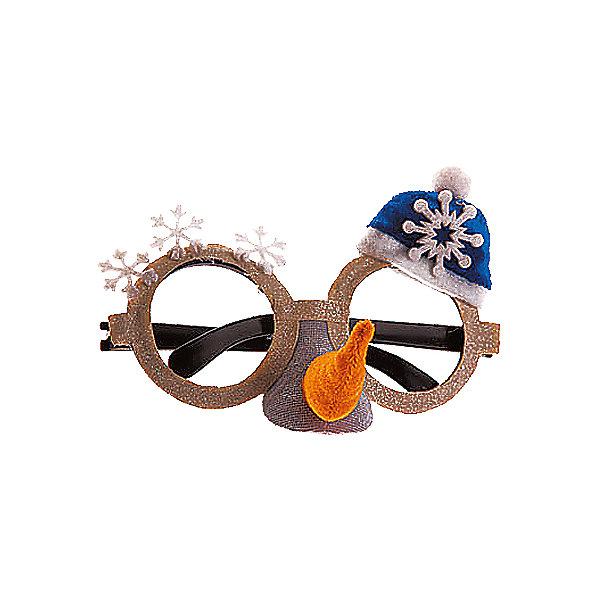 изд для карн. СНЕГОВИК маска-очкиДетские карнавальные маски<br>Очки карнавальные (кроме детских), является сувенирной продукцией<br><br>Ширина мм: 160<br>Глубина мм: 110<br>Высота мм: 60<br>Вес г: 31<br>Возраст от месяцев: 36<br>Возраст до месяцев: 2147483647<br>Пол: Унисекс<br>Возраст: Детский<br>SKU: 7140310
