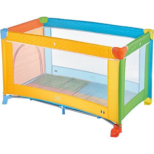 Манеж-кровать Sweet Baby Carnevale, ColoreМанежи-кровати<br>Манеж-кровать Sweet Baby Carnevale, Colore<br><br>Характеристики:<br><br>Лаз на молнии<br>Москитная сетка<br>Чехол для переноски манежа в комплекте.<br>Компактный в сложенном виде, легко расскладывается, жесткое дно. Mягкий матрас в комплекте.<br>2 колесика со стоперами для удобного перемещения, дополнительная подставка в центре.<br>Новая безопасная конструкция колеса где стоппером является удлиненная часть крышка колеса. Не требуется нажимать тормоз. Манеж твердо стоит на поверхности. <br><br>Вес 9 кг<br>Размер: 120х60х76 см<br>Ширина мм: 100; Глубина мм: 60; Высота мм: 76; Вес г: 10000; Возраст от месяцев: 0; Возраст до месяцев: 36; Пол: Унисекс; Возраст: Детский; SKU: 7140466;