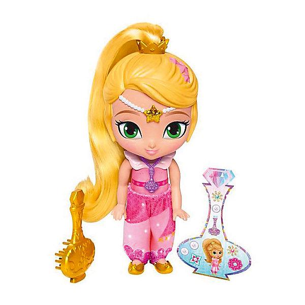 Мини-кукла Mattel Fisher Price Шиммер и Шайн Лея с аксессуарами, 15 смКуклы<br>Характеристики товара: <br><br>• возраст: от 3 лет;<br>• материал: пластик;<br>• в комплекте: кукла, аксессуары;<br>• высота куклы: 15 см;<br>• размер упаковки: 17х19х6,5 см;<br>• вес упаковки: 184 гр.;<br>• страна производитель: Китай.<br><br>Классические персонажи Shimmer&amp;Shine — герои известного мультфильма про маленьких джиннов Шиммер и Шайн, которые постоянно попадают в забавные нелепые ситуации. В наборе представлена куколка и аксессуары, которые помогут разнообразить игровой процесс. Игрушка выполнена из качественного безопасного пластика.<br><br>Классических персонажей Shimmer&amp;Shine можно приобрести в нашем интернет-магазине.<br><br>Ширина мм: 170<br>Глубина мм: 65<br>Высота мм: 190<br>Вес г: 184<br>Возраст от месяцев: 36<br>Возраст до месяцев: 120<br>Пол: Женский<br>Возраст: Детский<br>SKU: 7140489