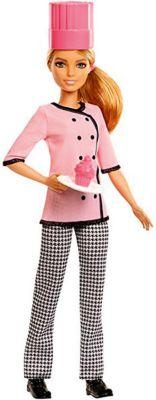 Кукла Mattel Barbie Кем быть? Кондитер, 29 см
