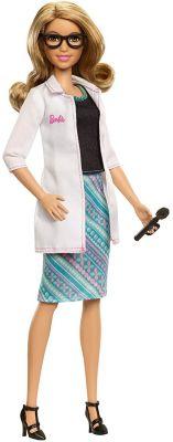 Кукла Mattel Barbie Кем быть? Окулист, 29 см