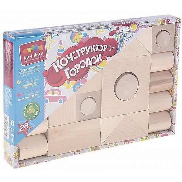 Деревянный конструктор Alatoys Городок, 28 деталей (неокрашенный)Деревянные конструкторы<br>Характеристики:<br><br>• возраст: от 1 года<br>• количество деталей: 28 шт.<br>• материал: древесина (береза)<br>• упаковка: картонная коробка открытого типа<br>• размер упаковки: 25,5х17,5х3 см.<br>• вес: 742 гр.<br><br>Конструктор «Городок» — это замечательный конструктор для самых маленьких. Из деталей конструктора ребенок сможет создать свой собственный город.<br><br>Детали конструктора изготовлены из цельной древесины березы, тщательно отшлифованы. Они не покрыты краской, поэтому ребенок сможет самостоятельно раскрасить детали. Конструктор не потеряет привлекательный вид, даже если играть с ним каждый день. Мелкие детали отсутствуют.<br><br>Конструктор знакомит малыша с геометрическими формами и размерами предметов, развивает мелкую моторику и пространственное воображение. <br><br>Конструктор ALATOYS К2100 Конструктор Городок неокрашенный 28 деталей можно купить в нашем интернет-магазине.<br>Ширина мм: 175; Глубина мм: 255; Высота мм: 30; Вес г: 742; Возраст от месяцев: 36; Возраст до месяцев: 2147483647; Пол: Унисекс; Возраст: Детский; SKU: 7140531;