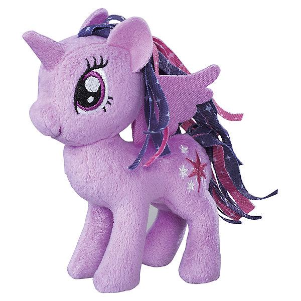 Мягкая игрушка Hasbro My little Pony Маленькие плюшевые пони, Искорка (Твайлайт Спаркл) 13 смМягкие игрушки из мультфильмов<br><br><br>Ширина мм: 102<br>Глубина мм: 102<br>Высота мм: 127<br>Вес г: 39<br>Возраст от месяцев: 36<br>Возраст до месяцев: 2147483647<br>Пол: Женский<br>Возраст: Детский<br>SKU: 7140847
