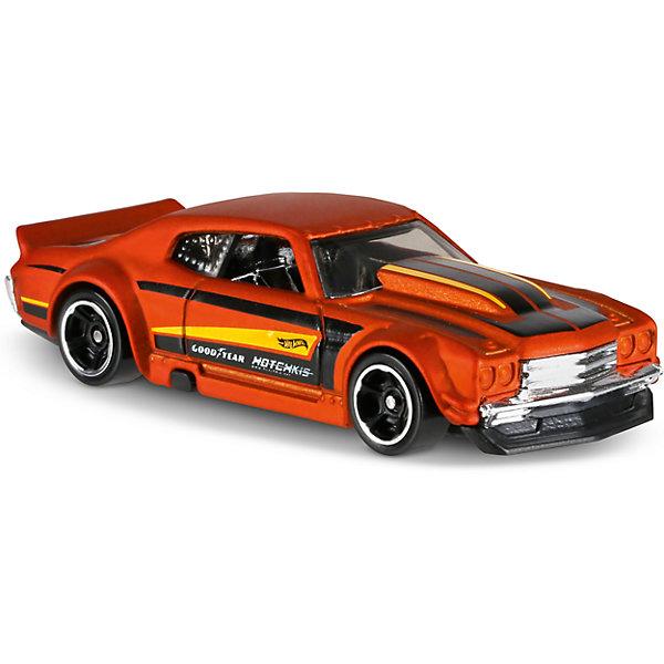 Базовая машинка Hot Wheels, 70 Chevy ChevelleПопулярные игрушки<br><br><br>Ширина мм: 110<br>Глубина мм: 45<br>Высота мм: 110<br>Вес г: 30<br>Возраст от месяцев: 36<br>Возраст до месяцев: 96<br>Пол: Мужской<br>Возраст: Детский<br>SKU: 7142079