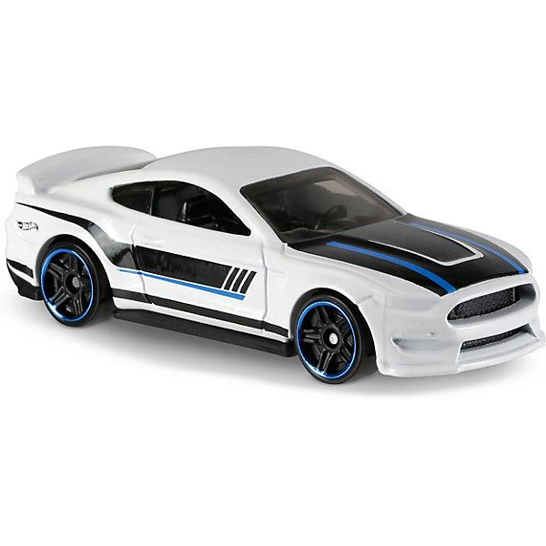 Базовая машинка Hot Wheels, Ford Shelby GT350RПопулярные игрушки<br><br><br>Ширина мм: 110<br>Глубина мм: 45<br>Высота мм: 110<br>Вес г: 30<br>Возраст от месяцев: 36<br>Возраст до месяцев: 96<br>Пол: Мужской<br>Возраст: Детский<br>SKU: 7142080
