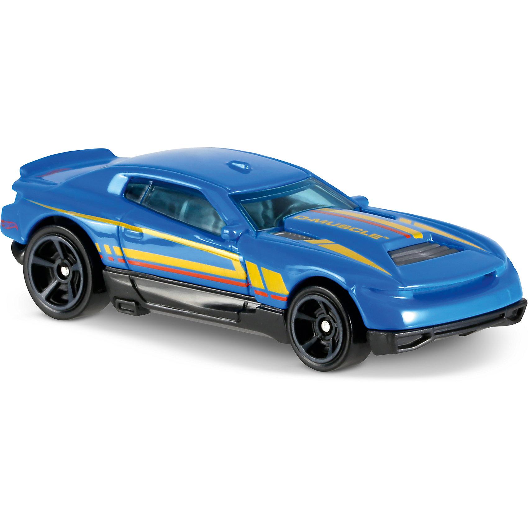 Базовая машинка Hot Wheels, D-MuskleПопулярные игрушки<br><br><br>Ширина мм: 110<br>Глубина мм: 45<br>Высота мм: 110<br>Вес г: 30<br>Возраст от месяцев: 36<br>Возраст до месяцев: 96<br>Пол: Мужской<br>Возраст: Детский<br>SKU: 7142082