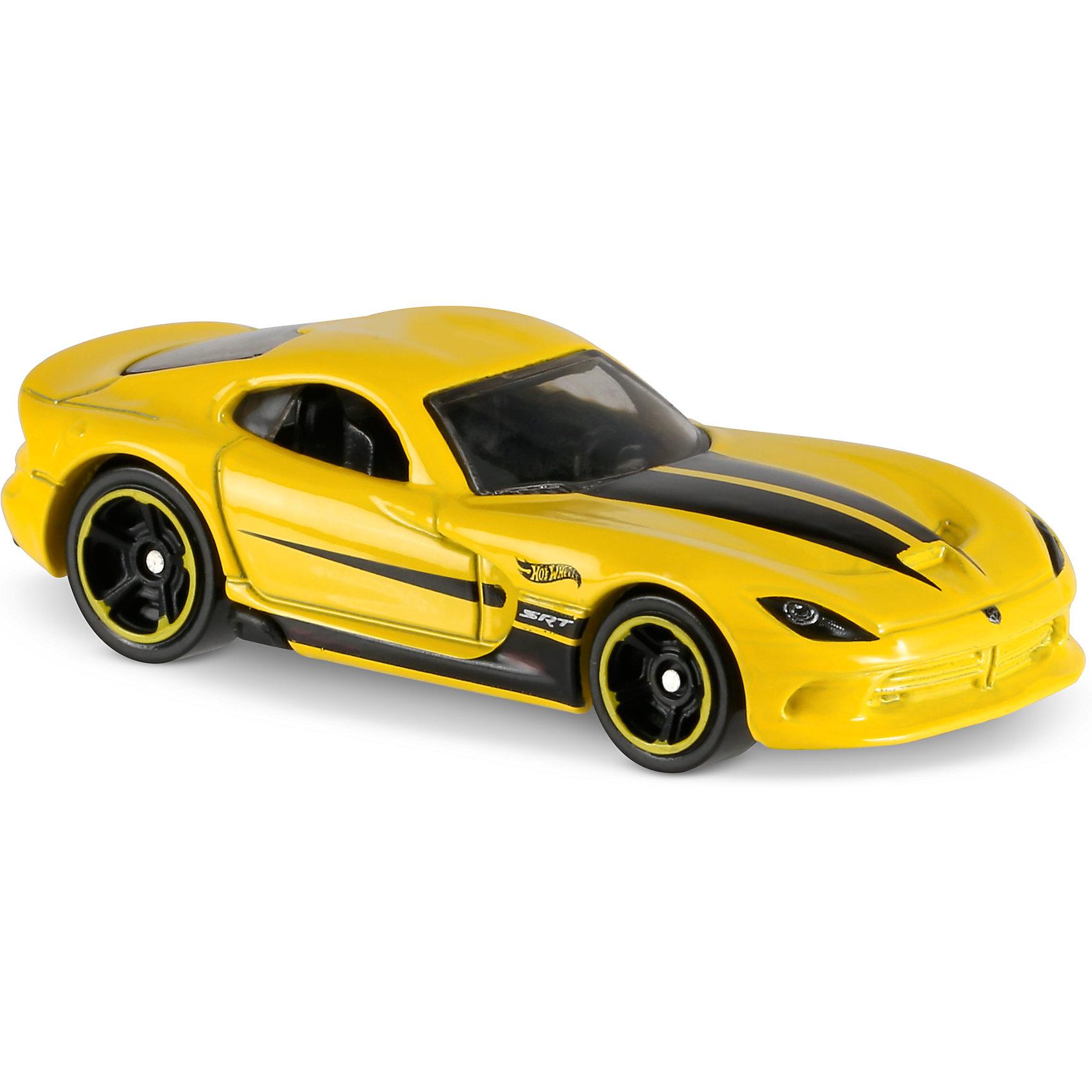 Базовая машинка Hot Wheels, 2013 SRT ViperПопулярные игрушки<br><br><br>Ширина мм: 110<br>Глубина мм: 45<br>Высота мм: 110<br>Вес г: 30<br>Возраст от месяцев: 36<br>Возраст до месяцев: 96<br>Пол: Мужской<br>Возраст: Детский<br>SKU: 7142084