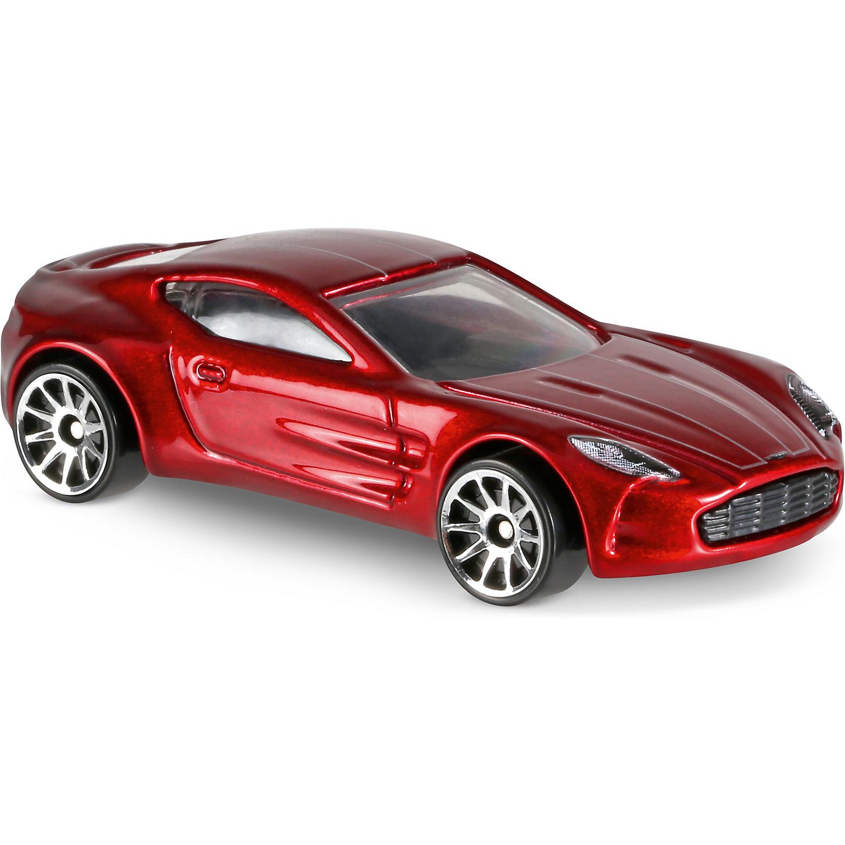 Базовая машинка Hot Wheels, Aston Martin One-77Популярные игрушки<br><br><br>Ширина мм: 110<br>Глубина мм: 45<br>Высота мм: 110<br>Вес г: 30<br>Возраст от месяцев: 36<br>Возраст до месяцев: 96<br>Пол: Мужской<br>Возраст: Детский<br>SKU: 7142085