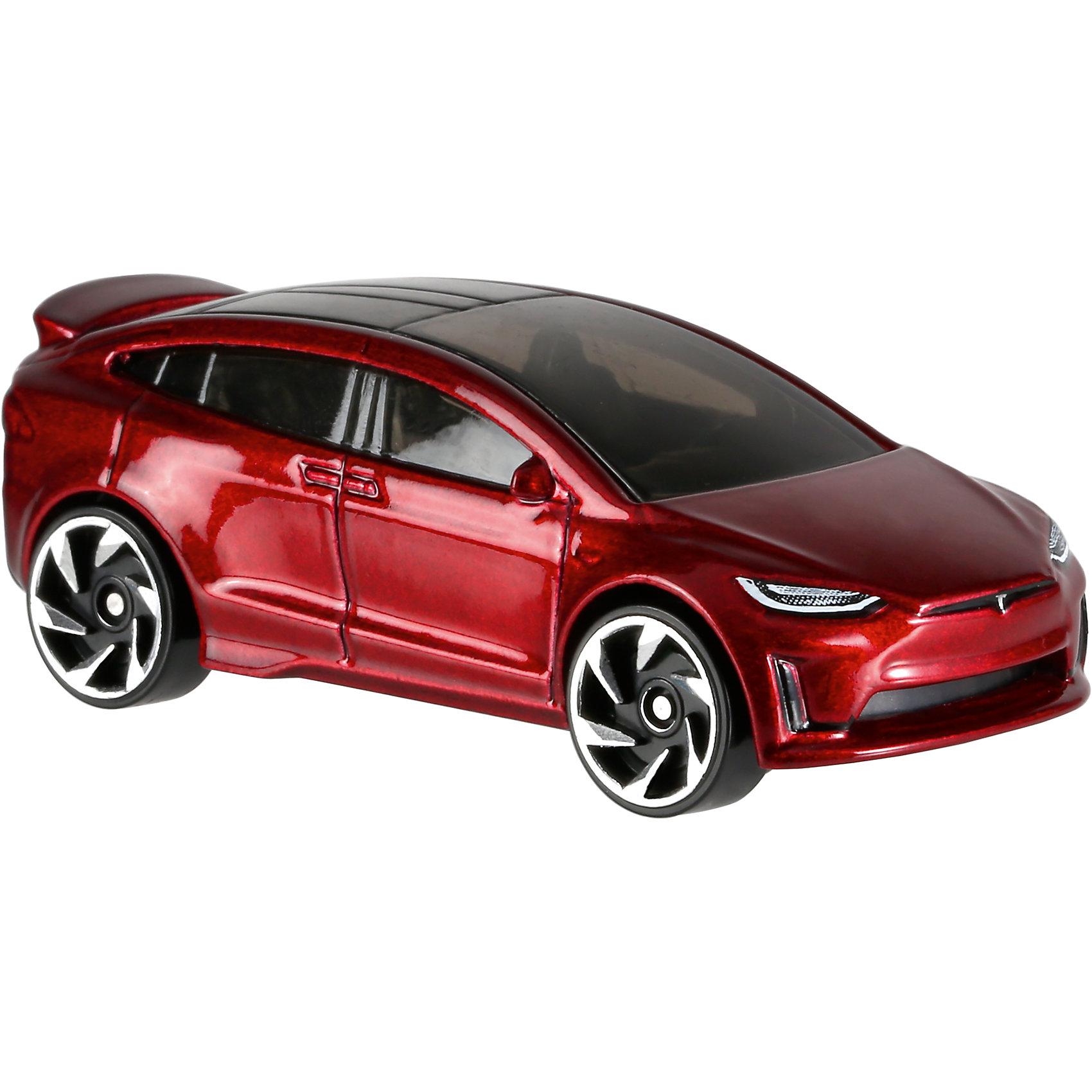 Базовая машинка Hot Wheels, Tesla Model XМашинки<br><br><br>Ширина мм: 110<br>Глубина мм: 45<br>Высота мм: 110<br>Вес г: 30<br>Возраст от месяцев: 36<br>Возраст до месяцев: 96<br>Пол: Мужской<br>Возраст: Детский<br>SKU: 7142089