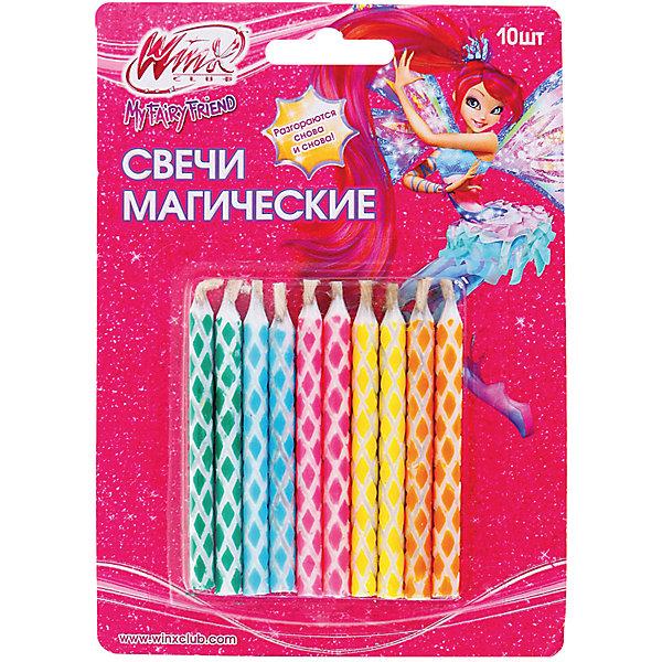 Свечи для торта Веселая затея Магические, 10 шт 6 смНовинки для праздника<br>Характеристики товара:<br><br>• возраст: от 3 лет;<br>• упаковка: блистер;<br>• количество в упаковки - 10 шт.;<br>• высота изделия - 7 см.;<br>• материал: парафин текстиль;<br>• бренд: Веселая Затея;<br>• страна-производитель: Китай.<br><br>Праздничные свечи «Магические»- это набор из десяти ярких разноцветных свечей для украшения торта в день рождения ребенка. С помощью свечей с магическим узором вы порадуете себя и своих близких, и сделаете день рождения незабываемым.  <br><br>Свечи от российского бренда Веселая Затея изготовлены из высококачественных нетоксичных материалов и безопасны для детского здоровья. Фитиль по мере сгорания не создает большого пламени и нагара.<br><br>Праздничные свечи «Магические», 7 см., 10 шт., Веселая Затея можно купить в нашем интернет-магазине.<br><br>Ширина мм: 135<br>Глубина мм: 95<br>Высота мм: 7<br>Вес г: 19<br>Возраст от месяцев: 36<br>Возраст до месяцев: 2147483647<br>Пол: Унисекс<br>Возраст: Детский<br>SKU: 7142868
