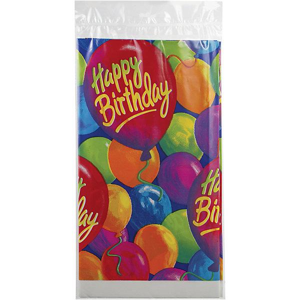 Скатерть Веселая затея С днем рождения. Шары, 140х260 смСалфетки и скатерти<br>Характеристики товара:<br><br>• возраст: от 3 лет;<br>• упаковка: пакет;<br>• количество в упаковке: 1 шт.;<br>• размер скатерти: 140х260 см.;<br>• цвет: мультиколор;<br>• материал: полипропилен ;<br>• бренд: Веселая Затея;<br>• страна-производитель: Китай.<br><br>Скатерть «С днем рождения» - отлично подойдет для детского дня рождения, она гармонично впишется в праздничную атмосферу, а яркие изображения на ней помогут поднять настроение гостей и именника.<br><br>Товары для праздника  от российского бренда Веселая Затея отличаются высоким качеством используемого материала. Скатерть изготовлена из водоотталкивающего полиэтилена,который облегчит вам процесс уборки после праздника.<br><br>Скатерть «С днем рождения» , 140х260 см., 1 шт., Веселая Затея  можно купить в нашем интернет-магазине.<br><br>Ширина мм: 360<br>Глубина мм: 200<br>Высота мм: 3<br>Вес г: 145<br>Возраст от месяцев: 36<br>Возраст до месяцев: 2147483647<br>Пол: Унисекс<br>Возраст: Детский<br>SKU: 7142878