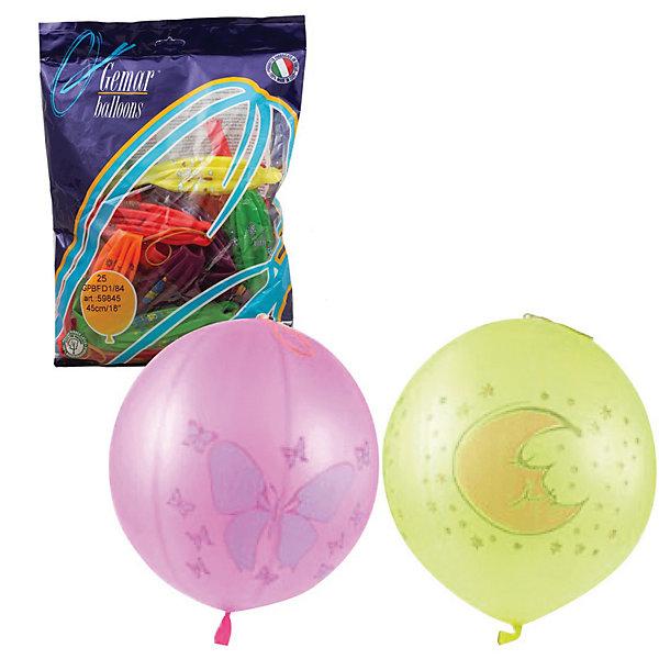 Воздушные шары 16 Веселая затея Панч-болл 25 шт, 41 см (8 рисунков, 12 цветов неон)Воздушные шары<br>Характеристики товара:<br><br>• возраст: от 3 лет;<br>• упаковка: пакет с хедером;<br>• количество шаров: 25 шт.;<br>• диаметр: 41 см.;<br>• цвет: мульти неон;<br>• состав: латекс 100%;<br>• бренд, страна: Веселая Затея, Россия;<br>• страна-производитель: Италия.<br><br>Набор из 25 шаров «панч-болл» 12-ти неоновых цветов с рисунком помогут ярко украсить комнату и подарят заряд радости и позитива всем гостям вашего торжества. Благодаря использованию специальных пигментов, входящим в состав, шары светятся в темноте, в ультрафиолетовом освещении. А также на  верхней части закреплена резинка для еще большего удобства использования шарика, в качестве игрушки. <br><br>Насыщенный цвет, легкое надувание и высококачественные материалы выгодно отличают их среди других праздничных аксессуаров. Вы можете надувать шарики самостоятельно или воспользоваться насосом, который быстро справится с задачей. <br><br>Набор из 25 шаров «панч-болл», 12 неоновых цветов с рисунком,  Веселая Затея  можно купить в нашем интернет-магазине.<br><br>Ширина мм: 390<br>Глубина мм: 290<br>Высота мм: 18<br>Вес г: 300<br>Возраст от месяцев: -2147483648<br>Возраст до месяцев: 2147483647<br>Пол: Унисекс<br>Возраст: Детский<br>SKU: 7142889