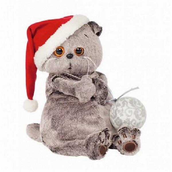 Басик и новогодний колпачокМягкие игрушки-кошки<br>Характеристики товара:<br><br>• возраст: от 3 лет;<br>• материал: текстиль, искусственный мех;<br>• высота игрушки: 30 см;<br>• размер упаковки: 32х18х16 см;<br>• вес упаковки: 633 гр.;<br>• страна производитель: Россия.<br><br>Мягкая игрушка «Басик и новогодний колпачок» Budi Basa - очаровательный пушистый котенок с добрыми глазками. На Басике красный новогодний колпак с помпоном, а в лапках он держит елочный шар. Игрушка выполнена из качественного безопасного материала, настолько приятного и мягкого, что ребенок будет брать с собой котенка в кроватку и спать в обнимку.<br><br>Мягкую игрушку «Басик и новогодний колпачок» Budi Basa можно приобрести в нашем интернет-магазине.<br><br>Ширина мм: 32<br>Глубина мм: 18<br>Высота мм: 16<br>Вес г: 633<br>Возраст от месяцев: 36<br>Возраст до месяцев: 84<br>Пол: Женский<br>Возраст: Детский<br>SKU: 7143394