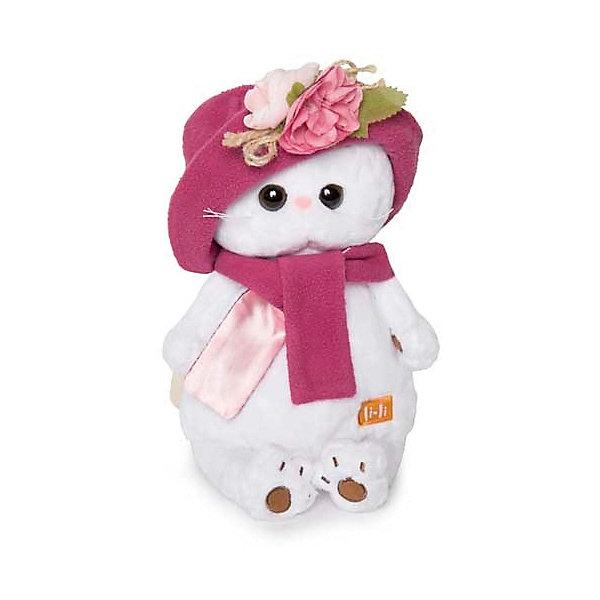 Мягкая игрушка Budi Basa Кошка Ли-Ли в панаме и шарфе, 24 смМягкие игрушки животные<br>Характеристики товара:<br><br>• возраст: от 3 лет;<br>• материал: текстиль, искусственный мех;<br>• высота игрушки: 24 см;<br>• размер упаковки: 27х16х14 см;<br>• вес упаковки: 440 гр.;<br>• страна производитель: Россия.<br><br>Мягкая игрушка «Ли-Ли в панаме и шарфе» Budi Basa — очаровательная пушистая белоснежная кошечка с большими глазками и оранжевыми ушками. На Ли-Ли двусторонний шарфик и флисовая панамка, украшенная цветком ручной работы. Игрушка выполнена из качественного безопасного материала, настолько приятного и мягкого, что ребенок будет брать с собой котенка в кроватку и спать в обнимку.<br><br>Мягкую игрушку «Ли-Ли в панаме и шарфе» Budi Basa можно приобрести в нашем интернет-магазине.<br><br>Ширина мм: 27<br>Глубина мм: 16<br>Высота мм: 14<br>Вес г: 440<br>Возраст от месяцев: 36<br>Возраст до месяцев: 84<br>Пол: Женский<br>Возраст: Детский<br>SKU: 7143415