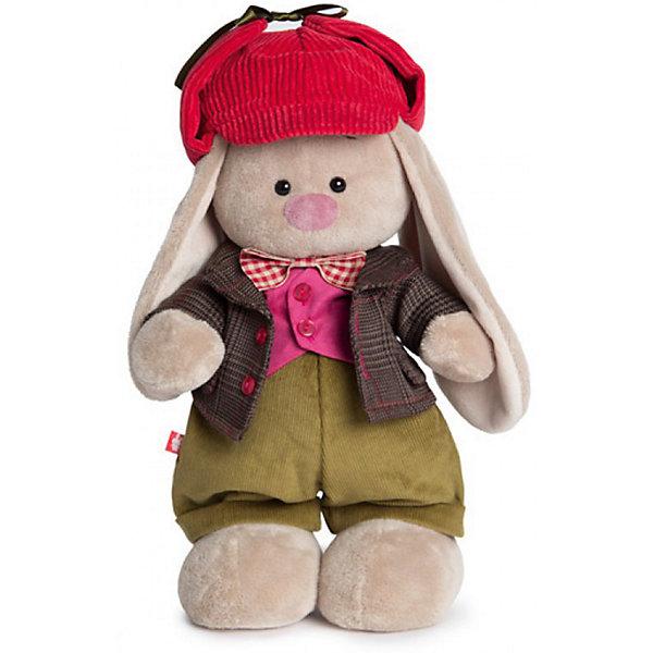 Одежда для Зайки Ми большого Budi Basa, пиджак и красная кепкаМягкие игрушки зайцы и кролики<br>Характеристики товара:<br><br>• возраст: от 3 лет;<br>• материал: текстиль;<br>• в комплекте: пиджак, кепка, штаны, жилет, бабочка;<br>• размер упаковки: 20х17х4 см;<br>• вес упаковки: 100 гр.;<br>• страна производитель: Россия.<br><br>Комплект одежды для Зайки Ми Budi Basa — дополнительный комплект для большого зайки. В него входят вельветовые штанишки, теплый пиджак, розовый жилетик, бабочка и красная кепка. <br><br>Комплект одежды для Зайки Ми Budi Basa можно приобрести в нашем интернет-магазине.<br><br>Ширина мм: 17<br>Глубина мм: 4<br>Высота мм: 20<br>Вес г: 100<br>Возраст от месяцев: 36<br>Возраст до месяцев: 84<br>Пол: Женский<br>Возраст: Детский<br>SKU: 7143417