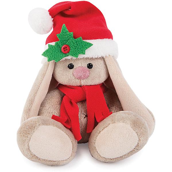 Мягкая игрушка Budi Basa Зайка Ми в красном колпачке и шарфе, 15 смМягкие игрушки зайцы и кролики<br>Характеристики товара:<br><br>• возраст: от 3 лет;<br>• материал: текстиль, искусственный мех;<br>• высота игрушки: 15 см;<br>• размер упаковки: 14х14х13 см;<br>• вес упаковки: 250 гр.;<br>• страна производитель: Россия.<br><br>Мягкая игрушка «Зайка Ми в красном колпачке и шарфе» Budi Basa — очаровательный пушистый зайчонок с длинными ушками. На голове у зайки красный новогодний колпак, а на шее теплый шарфик. Игрушка выполнена из качественного безопасного материала, настолько приятного и мягкого, что ребенок будет брать с собой зайку в кроватку и спать в обнимку.<br><br>Мягкую игрушку «Зайка Ми в красном колпачке и шарфе» Budi Basa можно приобрести в нашем интернет-магазине.<br><br>Ширина мм: 14<br>Глубина мм: 14<br>Высота мм: 13<br>Вес г: 250<br>Возраст от месяцев: 36<br>Возраст до месяцев: 84<br>Пол: Женский<br>Возраст: Детский<br>SKU: 7143432