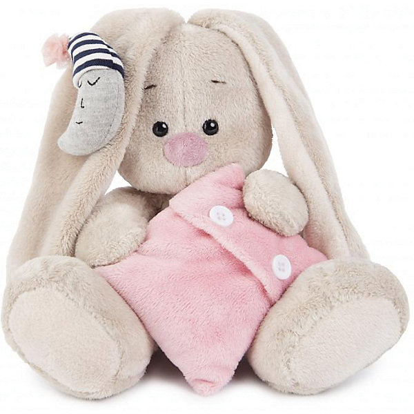 Зайка Ми  с подушкой и месяцем(малыш)Мягкие игрушки зайцы и кролики<br>Характеристики товара:<br><br>• возраст: от 3 лет;<br>• материал: текстиль, искусственный мех;<br>• высота игрушки: 15 см;<br>• размер упаковки: 14х14х13 см;<br>• вес упаковки: 250 гр.;<br>• страна производитель: Россия.<br><br>Мягкая игрушка «Зайка Ми с подушкой и месяцем» Budi Basa — очаровательный пушистый зайчонок с длинными ушками. Зайка Ми держит в лапках мягкую подушку, а на ушке у нее украшение в виде месяца. Игрушка выполнена из качественного безопасного материала, настолько приятного и мягкого, что ребенок будет брать с собой зайку в кроватку и спать в обнимку.<br><br>Мягкую игрушку «Зайка Ми с подушкой и месяцем» Budi Basa можно приобрести в нашем интернет-магазине.<br><br>Ширина мм: 14<br>Глубина мм: 14<br>Высота мм: 13<br>Вес г: 250<br>Возраст от месяцев: 36<br>Возраст до месяцев: 84<br>Пол: Женский<br>Возраст: Детский<br>SKU: 7143439