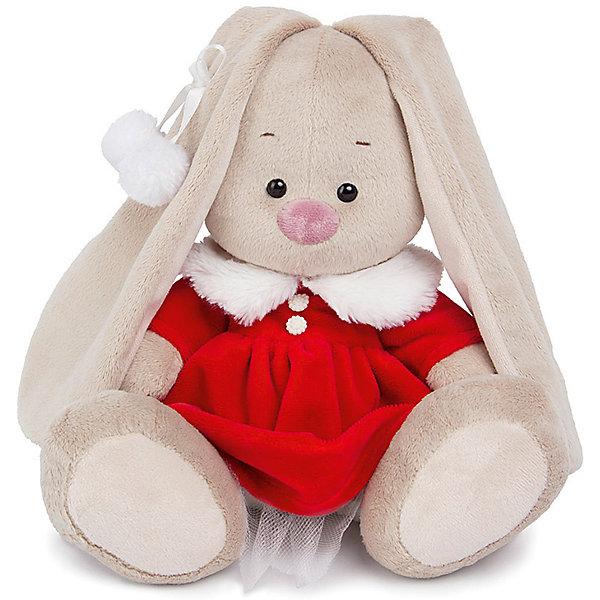 Мягкая игрушка Budi Basa Зайка Ми в алом платье, 32 смМягкие игрушки зайцы и кролики<br>Характеристики товара:<br><br>• возраст: от 3 лет;<br>• материал: текстиль, искусственный мех;<br>• высота игрушки: 23 см;<br>• размер упаковки: 18х18х17 см;<br>• вес упаковки: 466 гр.;<br>• страна производитель: Россия.<br><br>Мягкая игрушка «Зайка Ми в алом платье» Budi Basa — очаровательный пушистый зайчонок с длинными ушками. Зайка Ми одета в красное бархатное платье с меховым воротником. На ушке у зайки атласная ленточка с 2 помпонами. Игрушка выполнена из качественного безопасного материала, настолько приятного и мягкого, что ребенок будет брать с собой зайку в кроватку и спать в обнимку.<br><br>Мягкую игрушку «Зайка Ми в алом платье» Budi Basa можно приобрести в нашем интернет-магазине.<br><br>Ширина мм: 18<br>Глубина мм: 17<br>Высота мм: 18<br>Вес г: 466<br>Возраст от месяцев: 36<br>Возраст до месяцев: 84<br>Пол: Женский<br>Возраст: Детский<br>SKU: 7143443