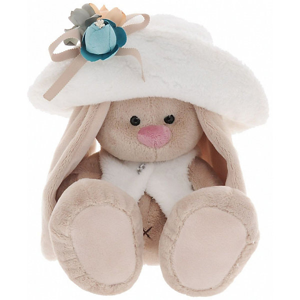 Мягкая игрушка Budi Basa Зайка Ми в белой меховой шляпе и жилете, 32 смМягкие игрушки зайцы и кролики<br>Характеристики товара:<br><br>• возраст: от 3 лет;<br>• материал: текстиль, искусственный мех;<br>• высота игрушки: 23 см;<br>• размер упаковки: 18х18х17 см;<br>• вес упаковки: 466 гр.;<br>• страна производитель: Россия.<br><br>Мягкая игрушка «Зайка Ми в белой меховой шляпе и жилете» Budi Basa — очаровательный пушистый зайчонок с длинными ушками. На зайке большая шляпка и жилетик с пуговицей. Игрушка выполнена из качественного безопасного материала, настолько приятного и мягкого, что ребенок будет брать с собой зайку в кроватку и спать в обнимку.<br><br>Мягкую игрушку «Зайка Ми в белой меховой шляпе и жилете» Budi Basa можно приобрести в нашем интернет-магазине.<br><br>Ширина мм: 18<br>Глубина мм: 17<br>Высота мм: 18<br>Вес г: 466<br>Возраст от месяцев: 36<br>Возраст до месяцев: 84<br>Пол: Женский<br>Возраст: Детский<br>SKU: 7143445