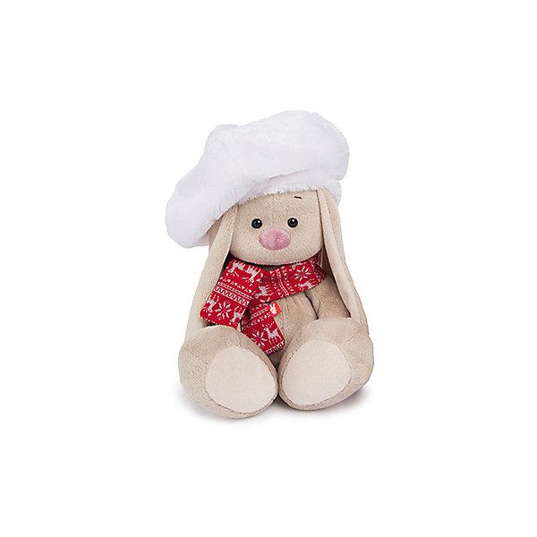 Мягкая игрушка Budi Basa Зайка Ми в белом берете, 32 смМягкие игрушки зайцы и кролики<br>Характеристики товара:<br><br>• возраст: от 3 лет;<br>• материал: текстиль, искусственный мех;<br>• высота игрушки: 23 см;<br>• размер упаковки: 18х18х17 см;<br>• вес упаковки: 466 гр.;<br>• страна производитель: Россия.<br><br>Мягкая игрушка «Зайка Ми в белом берете» Budi Basa — очаровательный пушистый зайчонок с длинными ушками. На зайке белый меховой берет с помпоном и красный теплый шарф. Игрушка выполнена из качественного безопасного материала, настолько приятного и мягкого, что ребенок будет брать с собой зайку в кроватку и спать в обнимку.<br><br>Мягкую игрушку «Зайка Ми в белом берете» Budi Basa можно приобрести в нашем интернет-магазине.<br><br>Ширина мм: 18<br>Глубина мм: 17<br>Высота мм: 18<br>Вес г: 466<br>Возраст от месяцев: 36<br>Возраст до месяцев: 84<br>Пол: Женский<br>Возраст: Детский<br>SKU: 7143446