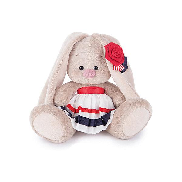 Мягкая игрушка Budi Basa Зайка Ми в морском костюме, 15 смМягкие игрушки зайцы и кролики<br>Характеристики товара:<br><br>• возраст: от 3 лет;<br>• материал: текстиль, искусственный мех;<br>• высота игрушки: 15 см;<br>• размер упаковки: 18х18х17 см;<br>• вес упаковки: 466 гр.;<br>• страна производитель: Россия.<br><br>Мягкая игрушка «Зайка Ми в морском костюме» Budi Basa — очаровательный пушистый зайчонок с длинными ушками. На зайке полосатая юбочка, а на ушке цветочек. Игрушка выполнена из качественного безопасного материала, настолько приятного и мягкого, что ребенок будет брать с собой зайку в кроватку и спать в обнимку.<br><br>Мягкую игрушку «Зайка Ми в морском костюме» Budi Basa можно приобрести в нашем интернет-магазине.<br>Ширина мм: 18; Глубина мм: 17; Высота мм: 18; Вес г: 466; Возраст от месяцев: 36; Возраст до месяцев: 84; Пол: Женский; Возраст: Детский; SKU: 7143453;