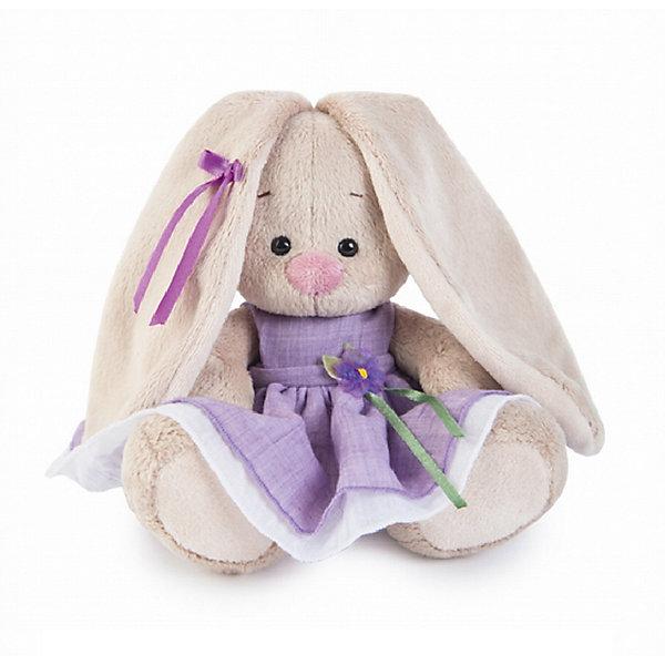 Мягкая игрушка Budi Basa Зайка Ми в фиолетовом платье с цветочком, 15 смМягкие игрушки зайцы и кролики<br>Характеристики товара:<br><br>• возраст: от 3 лет;<br>• материал: текстиль, искусственный мех;<br>• высота игрушки: 15 см;<br>• размер упаковки: 14х14х13 см;<br>• вес упаковки: 250 гр.;<br>• страна производитель: Россия.<br><br>Мягкая игрушка «Зайка Ми в фиолетовом платье с цветочком» Budi Basa — очаровательный пушистый зайчонок с длинными ушками. Зайка одета в нежное фиолетовое платье, украшенное цветком. На ушке у нее атласная ленточка. Игрушка выполнена из качественного безопасного материала, настолько приятного и мягкого, что ребенок будет брать с собой зайку в кроватку и спать в обнимку.<br><br>Мягкую игрушку «Зайка Ми в фиолетовом платье с цветочком» Budi Basa можно приобрести в нашем интернет-магазине.<br><br>Ширина мм: 14<br>Глубина мм: 14<br>Высота мм: 13<br>Вес г: 250<br>Возраст от месяцев: 36<br>Возраст до месяцев: 84<br>Пол: Женский<br>Возраст: Детский<br>SKU: 7143455
