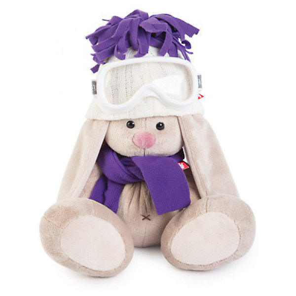 Мягкая игрушка Budi Basa Зайка Ми лыжник, 32 смМягкие игрушки зайцы и кролики<br>Характеристики товара:<br><br>• возраст: от 3 лет;<br>• материал: текстиль, искусственный мех;<br>• высота игрушки: 23 см;<br>• размер упаковки: 18х18х17 см;<br>• вес упаковки: 466 гр.;<br>• страна производитель: Россия.<br><br>Мягкая игрушка «Зайка Ми лыжник» Budi Basa — очаровательный пушистый зайчонок с длинными ушками. На зайке теплая шапочка, шарфик и горнолыжные очки. Игрушка выполнена из качественного безопасного материала, настолько приятного и мягкого, что ребенок будет брать с собой зайку в кроватку и спать в обнимку.<br><br>Мягкую игрушку «Зайка Ми лыжник» Budi Basa можно приобрести в нашем интернет-магазине.<br>Ширина мм: 18; Глубина мм: 17; Высота мм: 18; Вес г: 466; Возраст от месяцев: 36; Возраст до месяцев: 84; Пол: Женский; Возраст: Детский; SKU: 7143461;