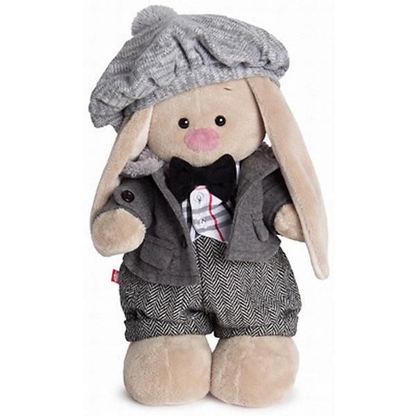 Мягкая игрушка Budi Basa Зайка Ми-мальчик Оксфорд, 32 смМягкие игрушки зайцы и кролики<br>Характеристики товара:<br><br>• возраст: от 3 лет;<br>• материал: текстиль, искусственный мех;<br>• высота игрушки: 32 см;<br>• размер упаковки: 34х20х17 см;<br>• вес упаковки: 666 гр.;<br>• страна производитель: Россия.<br><br>Мягкая игрушка «Зайка Ми Оксфорд» Budi Basa — очаровательный пушистый зайчонок с длинными ушками. Зайка Ми одета в теплое пальто с меховым воротником, штанишки, клетчатый жилетик, а на голове берет с помпоном. Игрушка выполнена из качественного безопасного материала, настолько приятного и мягкого, что ребенок будет брать с собой зайку в кроватку и спать в обнимку.<br><br>Мягкую игрушку «Зайка Ми Оксфорд» Budi Basa можно приобрести в нашем интернет-магазине.<br><br>Ширина мм: 34<br>Глубина мм: 20<br>Высота мм: 17<br>Вес г: 666<br>Возраст от месяцев: 36<br>Возраст до месяцев: 84<br>Пол: Женский<br>Возраст: Детский<br>SKU: 7143464
