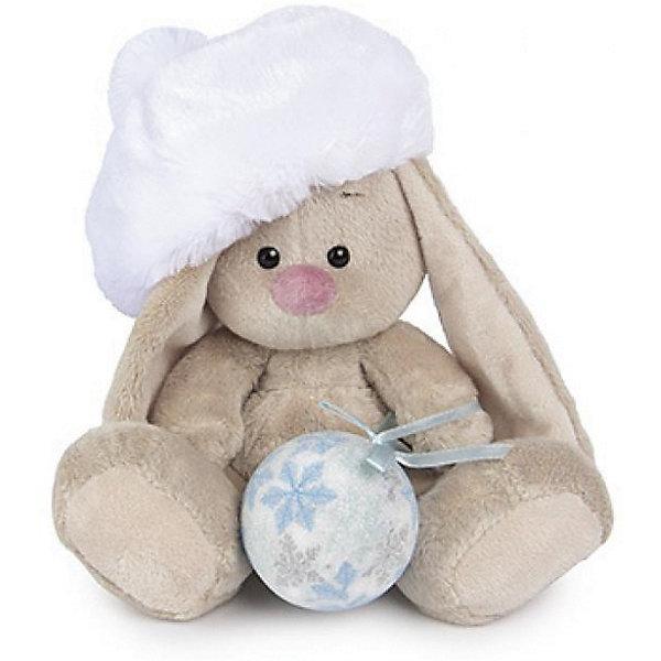 Мягкая игрушка Budi Basa Зайка Ми с новогодним шариком, 15 смМягкие игрушки зайцы и кролики<br>Характеристики товара:<br><br>• возраст: от 3 лет;<br>• материал: текстиль, искусственный мех;<br>• высота игрушки: 15 см;<br>• размер упаковки: 14х14х13 см;<br>• вес упаковки: 250 гр.;<br>• страна производитель: Россия.<br><br>Мягкая игрушка «Зайка Ми с новогодним шариком» Budi Basa — очаровательный пушистый зайчонок с длинными ушками. На зайке меховой белоснежный берет, а в лапках она держит елочную игрушку. Игрушка выполнена из качественного безопасного материала, настолько приятного и мягкого, что ребенок будет брать с собой зайку в кроватку и спать в обнимку.<br><br>Мягкую игрушку «Зайка Ми с новогодним шариком» Budi Basa можно приобрести в нашем интернет-магазине.<br><br>Ширина мм: 14<br>Глубина мм: 14<br>Высота мм: 13<br>Вес г: 250<br>Возраст от месяцев: 36<br>Возраст до месяцев: 84<br>Пол: Женский<br>Возраст: Детский<br>SKU: 7143468
