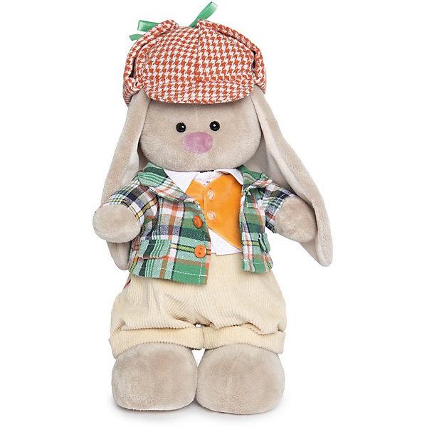 Мягкая игрушка Budi Basa Зайка Ми-мальчик Честер, 32 смМягкие игрушки зайцы и кролики<br>Характеристики товара:<br><br>• возраст: от 3 лет;<br>• материал: текстиль, искусственный мех;<br>• высота игрушки: 32 см;<br>• размер упаковки: 34х20х17 см;<br>• вес упаковки: 666 гр.;<br>• страна производитель: Россия.<br><br>Мягкая игрушка «Зайка Ми Честер» Budi Basa — очаровательный пушистый зайчонок с длинными ушками. Зайка Ми одета в клетчатые пиджак, оранжевый жилет, вельветовые штанишки и красную твидовую кепку. Игрушка выполнена из качественного безопасного материала, настолько приятного и мягкого, что ребенок будет брать с собой зайку в кроватку и спать в обнимку.<br><br>Мягкую игрушку «Зайка Ми Честер» Budi Basa можно приобрести в нашем интернет-магазине.<br><br>Ширина мм: 34<br>Глубина мм: 20<br>Высота мм: 17<br>Вес г: 666<br>Возраст от месяцев: 36<br>Возраст до месяцев: 84<br>Пол: Женский<br>Возраст: Детский<br>SKU: 7143474