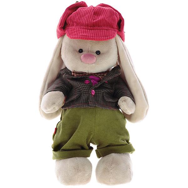 Мягкая игрушка Budi Basa Зайка Ми-мальчик Эдинбург, 32 смМягкие игрушки зайцы и кролики<br>Характеристики товара:<br><br>• возраст: от 3 лет;<br>• материал: текстиль, искусственный мех;<br>• высота игрушки: 32 см;<br>• размер упаковки: 34х20х17 см;<br>• вес упаковки: 666 гр.;<br>• страна производитель: Россия.<br><br>Мягкая игрушка «Зайка Ми Эдинбург» Budi Basa — очаровательный пушистый зайчонок с длинными ушками. Зайка Ми одета в теплый пиджачок, розовый жилет, вельветовые штанишки и красную вельветовую кепку. Игрушка выполнена из качественного безопасного материала, настолько приятного и мягкого, что ребенок будет брать с собой зайку в кроватку и спать в обнимку.<br><br>Мягкую игрушку «Зайка Ми Эдинбург» Budi Basa можно приобрести в нашем интернет-магазине.<br><br>Ширина мм: 34<br>Глубина мм: 20<br>Высота мм: 17<br>Вес г: 666<br>Возраст от месяцев: 36<br>Возраст до месяцев: 84<br>Пол: Женский<br>Возраст: Детский<br>SKU: 7143475