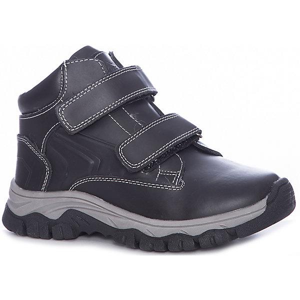 Купить Ботинки Котофей для мальчика, Китай, черный, 30, 35, 34, 33, 32, 31, Мужской