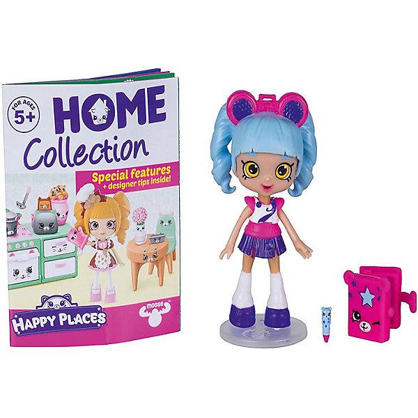 Мини-кукла Moose Shopkins Счастливые места Риана Радио и фигурки Петкинс, 13 смКуклы<br>Характеристики товара:<br><br>• возраст: от 5 лет;<br>• высота куклы:  13 см;<br>• материал: пластик;<br>• упаковка: картонная коробка;<br>• размер упаковки: 14х16х4 см.;<br>• вес: 110 гр.;<br>• наименование бренда, страна бренда: Moose (Мус), Австралия;<br>• страна изготовитель: Китай.<br><br>Игровой набор с куклой Shoppie «Риана Радио» - набор Happy Places от компании Moose включает в себя очаровательную куколку и 2 эксклюзивные фигурки Petkins.<br><br>Озорная куколка Риана Радио уже готова пригласить всех своих друзей на пижамную вечеринку с мишками. Куколка обладает неповторимым образом. Ее голубые волосы и яркий наряд способны привлечь внимание любого. Прическу Рианы украшает розовый ободок в виде радио, музыка сопровождает ее всегда. <br><br>Все эти аксессуары позволят девочкам организовать веселую и увлекательную тематическую игру. Они изготовлены из высококачественных материалов, безопасных для детского здоровья. <br><br>Игровой набор с куклой Shoppie «Риана Радио», 13 см., Moose (Мус) можно купить в нашем интернет-магазине.<br><br>Ширина мм: 140<br>Глубина мм: 40<br>Высота мм: 160<br>Вес г: 110<br>Возраст от месяцев: 60<br>Возраст до месяцев: 2147483647<br>Пол: Женский<br>Возраст: Детский<br>SKU: 7143864