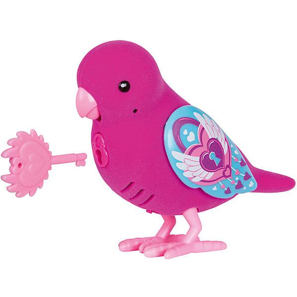 Интерактивная птичка Moose Little Live Pets Locky Lovebird, фиолетовая (звук, запись)Интерактивные животные<br>Характеристики товара:<br><br>• возраст: от 5 лет;<br>• материал: пластик;<br>• тип батареек: 2 батарейки ААА;<br>• наличие батареек: в комплект не входят;<br>• размер упаковки: 22х14х5,5 см;<br>• вес упаковки: 140 гр.;<br>• страна производитель: Китай.<br><br>Интерактивная птичка Moose Little Live Pets Lockie Lovebird — интерактивная игрушка в виде птички с яркими разноцветными крылышками. Если погладить птичку, то она запоет. Если гладить ее некоторое время, то зазвучит мелодия. Птичка умеет запоминать и повторять сказанные фразы. Нужно просто нажать кнопочку у нее на груди. Кроме этого, в комплекте с птичкой необычный ключик. Ребенок может записать секретную фразу, которую птичка произнесет, только если повернуть ключик. Игрушка выполнена из качественных материалов.Интерактивную птичку <br><br>Moose Little Live Pets Lockie Lovebird можно приобрести в нашем интернет-магазине.<br><br>Ширина мм: 140<br>Глубина мм: 55<br>Высота мм: 220<br>Вес г: 140<br>Возраст от месяцев: 60<br>Возраст до месяцев: 120<br>Пол: Унисекс<br>Возраст: Детский<br>SKU: 7144238