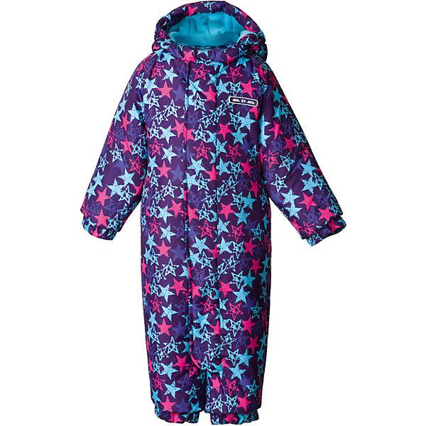 Комбинезон Ma-Zi-Ma для девочкиВерхняя одежда<br>Характеристики товара:<br><br>• цвет: фиолетовый<br>• комплектация: комбинезон, варежки, пинетки, шарф, шапка<br>• состав ткани: Taslan с водонепроницаемой пропиткой<br>• подкладка: поларфлис <br>• утеплитель: полиэстер<br>• сезон: зима<br>• температурный режим: от -30 до +5<br>• водонепроницаемость: 1000 мм <br>• паропроницаемость: 1000 г/м2<br>• плотность утеплителя: 280 г/м2<br>• пинетки и рукавицы: съемные<br>• капюшон: съемный, без меха<br>• застежка: молния<br>• страна бренда: Россия<br>• страна изготовитель: Китай<br><br>Яркий зимний комбинезон для ребенка отличается стильным дизайном. Верх детского комбинезона также обеспечит защиту от грязи, влаги и ветра. Подкладка комбинезона для зимы приятная на ощупь. Практичный комбинезон Ma-Zi-Ma для девочки сделан легкого, но теплого материала. <br><br>Комбинезон Ma-Zi-Ma (Ма-Зи-Ма) для девочки можно купить в нашем интернет-магазине.<br><br>Ширина мм: 356<br>Глубина мм: 10<br>Высота мм: 245<br>Вес г: 519<br>Цвет: лиловый<br>Возраст от месяцев: 24<br>Возраст до месяцев: 36<br>Пол: Женский<br>Возраст: Детский<br>Размер: 68,98,74,80,86,92<br>SKU: 7144264