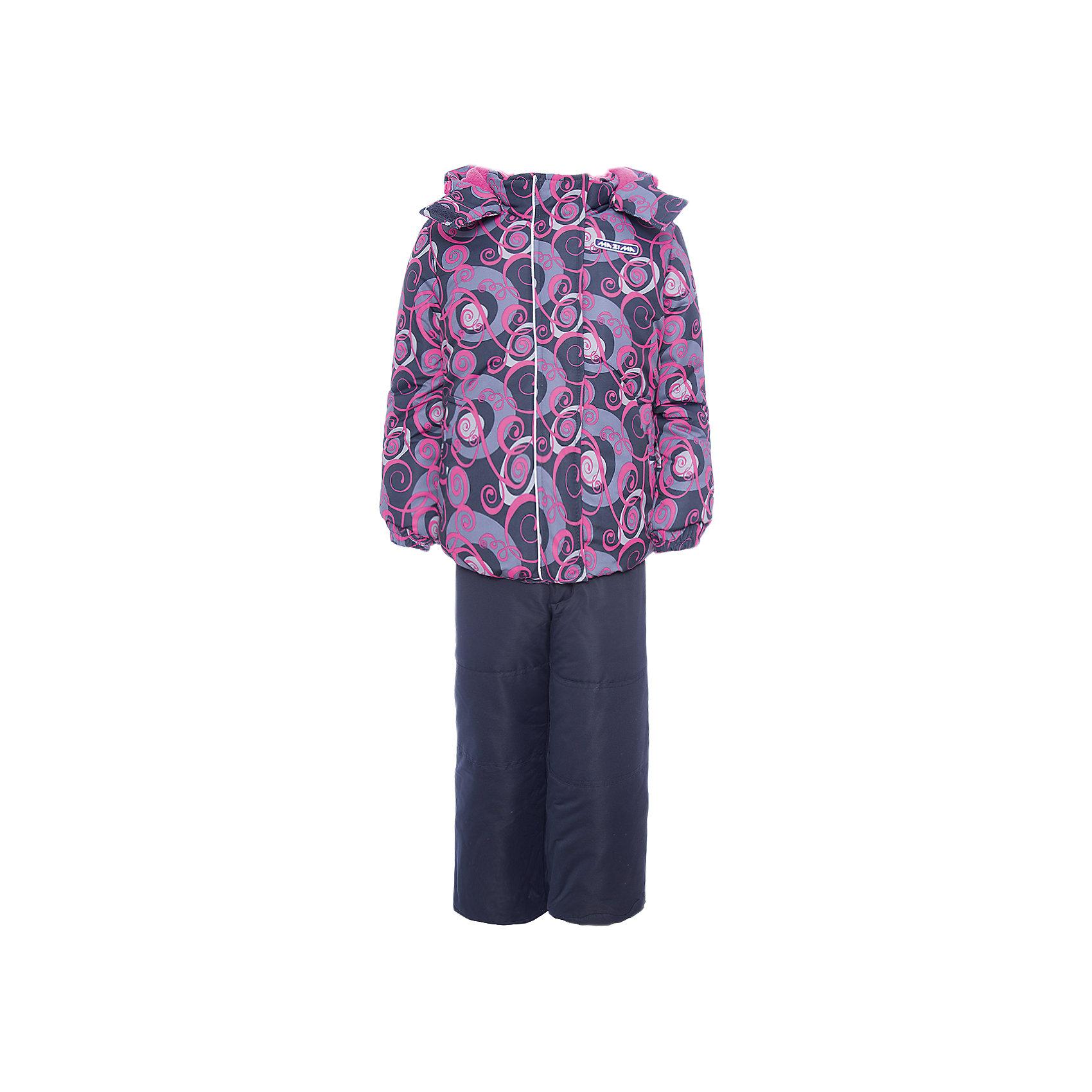 Комплект: куртка и брюки Ma-Zi-Ma для девочкиВерхняя одежда<br>Характеристики товара:<br><br>• цвет: фиолетовый<br>• комплектация: куртка и брюки<br>• состав ткани: Taslan с водонепроницаемой пропиткой<br>• подкладка: поларфлис <br>• утеплитель: полиэстер<br>• сезон: зима<br>• температурный режим: от -30 до +5<br>• водонепроницаемость: 1000 мм <br>• паропроницаемость: 1000 г/м2<br>• плотность утеплителя: куртка - 280 г/м2, брюки - 200 г/м2<br>• капюшон: съемный, без меха<br>• застежка: молния<br>• брюки усилены износостойкими вставками<br>• страна бренда: Россия<br>• страна изготовитель: Китай<br><br>Зимний комплект для девочки дополнен множеством функциональных элементов. Верх детской зимней куртки и брюк не промокает и не продувается. Мягкая подкладка детского комплекта для зимы приятна на ощупь. Комплект для зимы усилен износостойкими накладками.<br><br>Комплект: куртка и брюки Ma-Zi-Ma (Ма-Зи-Ма) для девочки можно купить в нашем интернет-магазине.<br><br>Ширина мм: 356<br>Глубина мм: 10<br>Высота мм: 245<br>Вес г: 519<br>Цвет: серый<br>Возраст от месяцев: 132<br>Возраст до месяцев: 144<br>Пол: Женский<br>Возраст: Детский<br>Размер: 152,146,92,98,104,110,116,122,128,134,140<br>SKU: 7144271