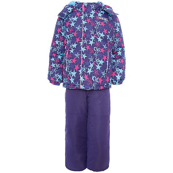 Комплект: куртка и брюки Ma-Zi-Ma для девочкиВерхняя одежда<br>Характеристики товара:<br><br>• цвет: синий<br>• комплектация: куртка и брюки<br>• состав ткани: Taslan с водонепроницаемой пропиткой<br>• подкладка: поларфлис <br>• утеплитель: полиэстер<br>• сезон: зима<br>• температурный режим: от -30 до +5<br>• водонепроницаемость: 1000 мм <br>• паропроницаемость: 1000 г/м2<br>• плотность утеплителя: куртка - 280 г/м2, брюки - 200 г/м2<br>• капюшон: съемный, без меха<br>• застежка: молния<br>• брюки усилены износостойкими вставками<br>• страна бренда: Россия<br>• страна изготовитель: Китай<br><br>Теплый комплект для девочки позволит в холода создать ребенку комфортные условия. Верх детской зимней куртки и брюк - с водонепроницаемой пропиткой. Качественный наполнитель детского комплекта для зимы легкий и теплый. Комплект для зимы дополнен элементами, защищающими от попадания внутрь снега.<br><br>Комплект: куртка и брюки Ma-Zi-Ma (Ма-Зи-Ма) для девочки можно купить в нашем интернет-магазине.<br><br>Ширина мм: 356<br>Глубина мм: 10<br>Высота мм: 245<br>Вес г: 519<br>Цвет: лиловый<br>Возраст от месяцев: 18<br>Возраст до месяцев: 24<br>Пол: Женский<br>Возраст: Детский<br>Размер: 140,134,128,122,116,110,104,98,92,152,146<br>SKU: 7144283