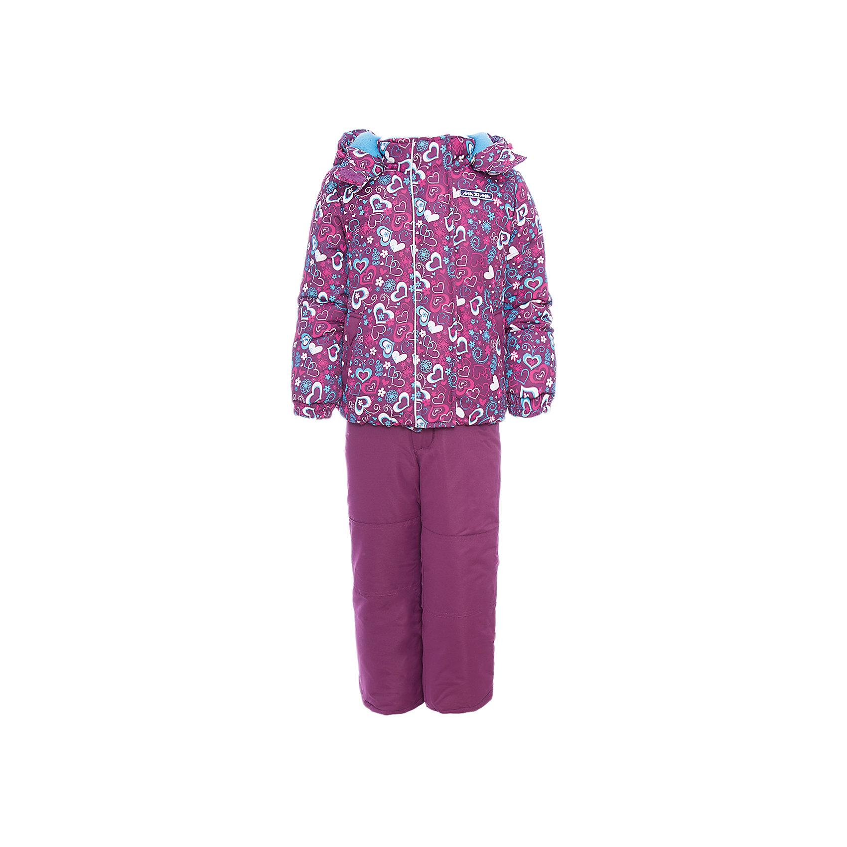 Комплект: куртка и брюки Ma-Zi-Ma для девочкиВерхняя одежда<br>Характеристики товара:<br><br>• цвет: фиолетовый<br>• комплектация: куртка и брюки<br>• состав ткани: Taslan с водонепроницаемой пропиткой<br>• подкладка: поларфлис <br>• утеплитель: полиэстер<br>• сезон: зима<br>• температурный режим: от -30 до +5<br>• водонепроницаемость: 1000 мм <br>• паропроницаемость: 1000 г/м2<br>• плотность утеплителя: куртка - 280 г/м2, брюки - 200 г/м2<br>• капюшон: съемный, без меха<br>• застежка: молния<br>• брюки усилены износостойкими вставками<br>• страна бренда: Россия<br>• страна изготовитель: Китай<br><br>Оригинальный зимний комплект для девочки дополнен множеством функциональных элементов. Верх детской зимней куртки и брюк не промокает и не продувается. Мягкая подкладка детского комплекта для зимы приятна на ощупь. Комплект для зимы усилен износостойкими накладками.<br><br>Комплект: куртка и брюки Ma-Zi-Ma (Ма-Зи-Ма) для девочки можно купить в нашем интернет-магазине.<br><br>Ширина мм: 356<br>Глубина мм: 10<br>Высота мм: 245<br>Вес г: 519<br>Цвет: лиловый<br>Возраст от месяцев: 36<br>Возраст до месяцев: 48<br>Пол: Женский<br>Возраст: Детский<br>Размер: 104,110,116,122,128,134,140,146,152,92,98<br>SKU: 7144307