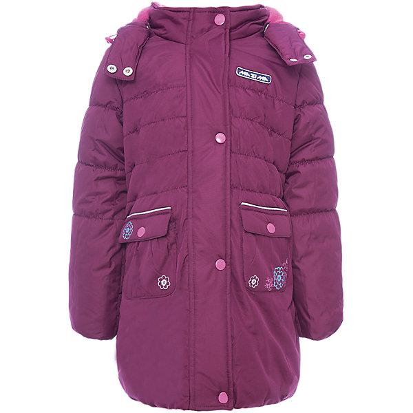 Пальто Ma-Zi-Ma для девочкиВерхняя одежда<br>Характеристики товара:<br><br>• цвет: фиолетовый<br>• состав ткани: Ponge с водонепроницаемой пропиткой <br>• подкладка: поларфлис <br>• утеплитель: полиэстер<br>• сезон: зима<br>• температурный режим: от -30 до +5<br>• водонепроницаемость: 1000 мм <br>• паропроницаемость: 1000 г/м2<br>• плотность утеплителя: 280 г/м2<br>• капюшон: съемный, без меха<br>• застежка: молния<br>• страна бренда: Россия<br>• страна изготовитель: Китай<br><br>Стильное зимнее пальто для девочки дополнено карманами, капюшоном и планкой от ветра. Верх детского пальто усилен специальной пропиткой. Мягкая подкладка детского пальто для зимы приятна на ощупь. Пальто для зимы имеет оптимальную длину ниже колен.<br><br>Пальто Ma-Zi-Ma (Ма-Зи-Ма) для девочки можно купить в нашем интернет-магазине.<br>Ширина мм: 356; Глубина мм: 10; Высота мм: 245; Вес г: 519; Цвет: лиловый; Возраст от месяцев: 132; Возраст до месяцев: 144; Пол: Женский; Возраст: Детский; Размер: 152,104,110,116,122,128,134,140,146; SKU: 7144343;